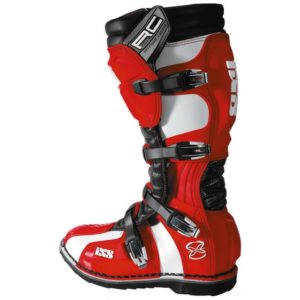 IXS XP RC Boots Red White Black