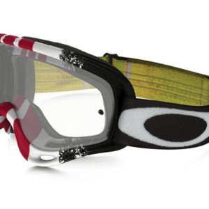 oakley o frame pinned race red yellow