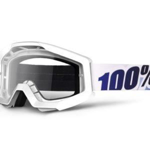 máscara 100 strata ice age lente transparente