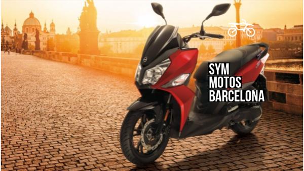 sym motos barcelona