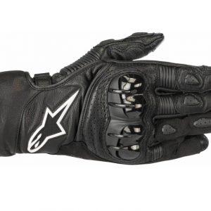 sp 2 v2 leather glove black
